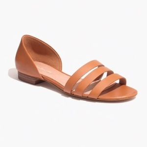 Madewell Leila Leather Sandal